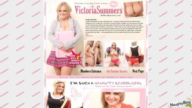 VictoriaSummers.com - SITERIP