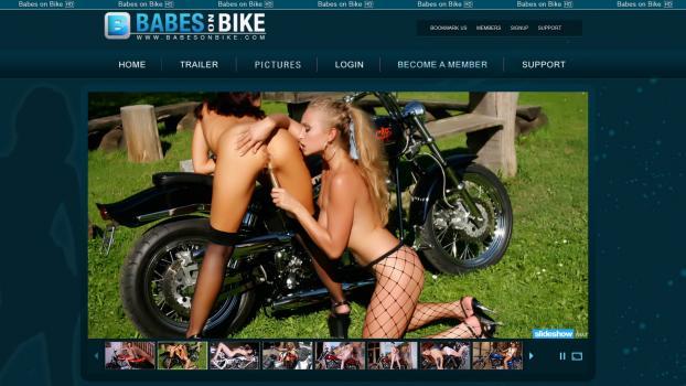 BabesOnBike - SiteRip