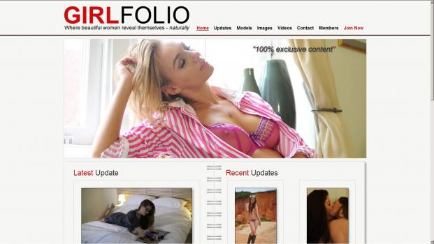 GirlFolio - SiteRip