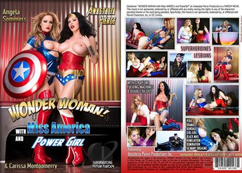 Pelicula porno wonder woman Wonder Woman With Miss America And Power Girl Seaporn Org