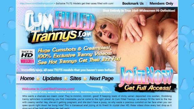 CumFilledTrannys – SiteRip