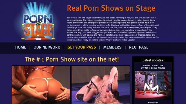 PornOnStage - SiteRip