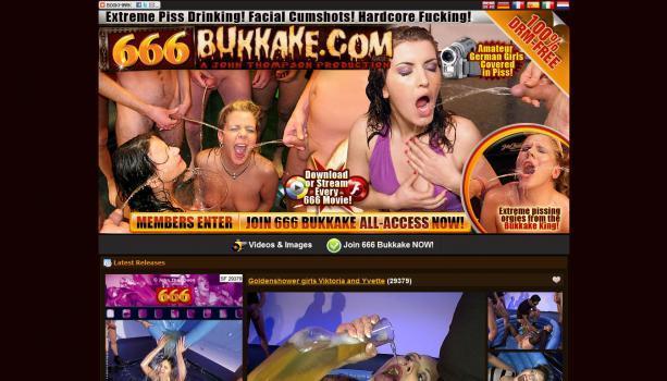 666Bukkake – SiteRip