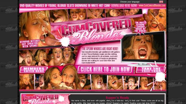 CumCoveredBlondes - SiteRip