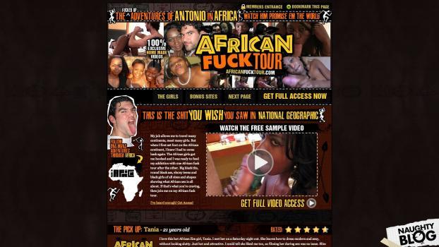AfricanFuckTour.com - SITERIP