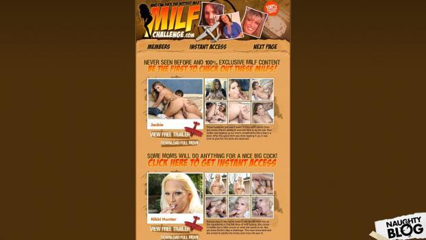 MilfChallenge.com - SITERIP