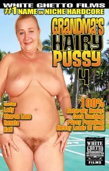 Grandmas Hairy Pussy #4