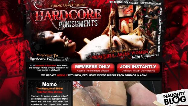 HardcorePunishments.com - SITERIP