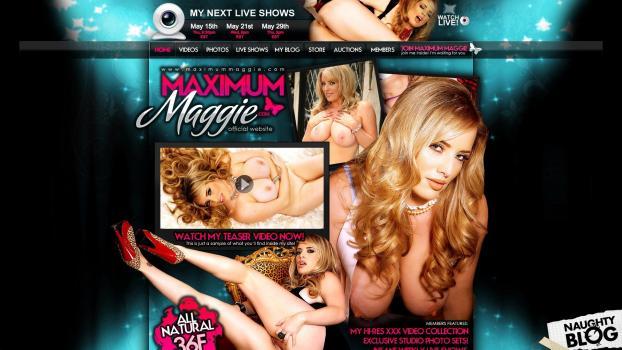 MaximumMaggie.com - SITERIP
