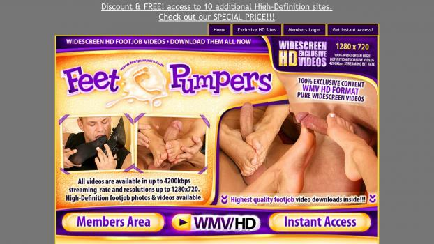 FeetPumpers - SiteRip