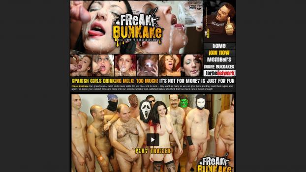 FreakBukkake - SiteRip